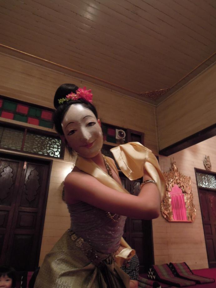 Pokaz tradycyjnego tajskiego tańca masek, fot. A. Mielczarek