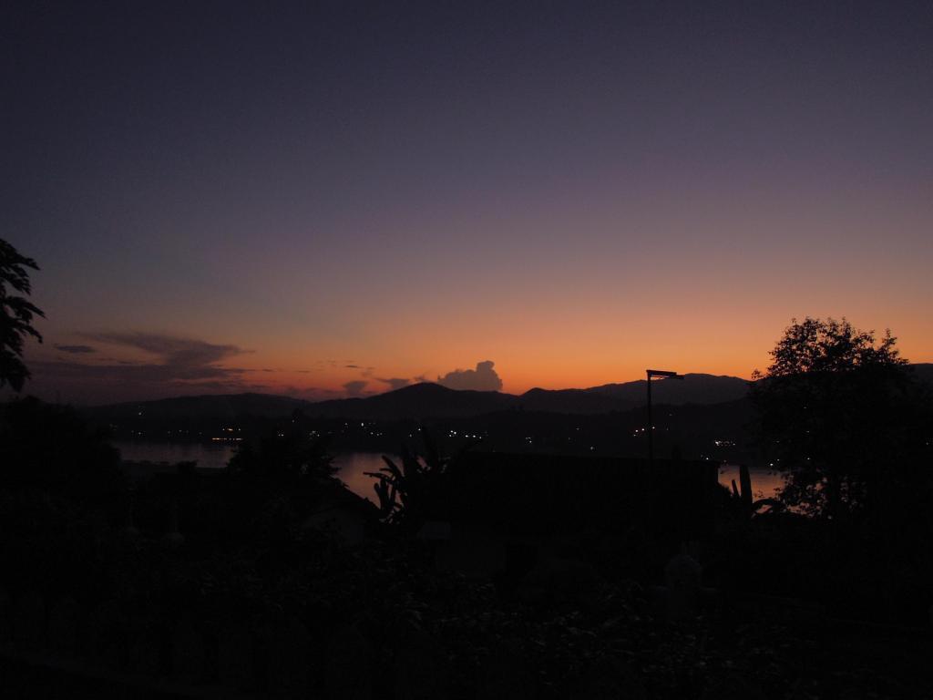 Mekong o zachodzie słońca, fot. M. Lehrmann