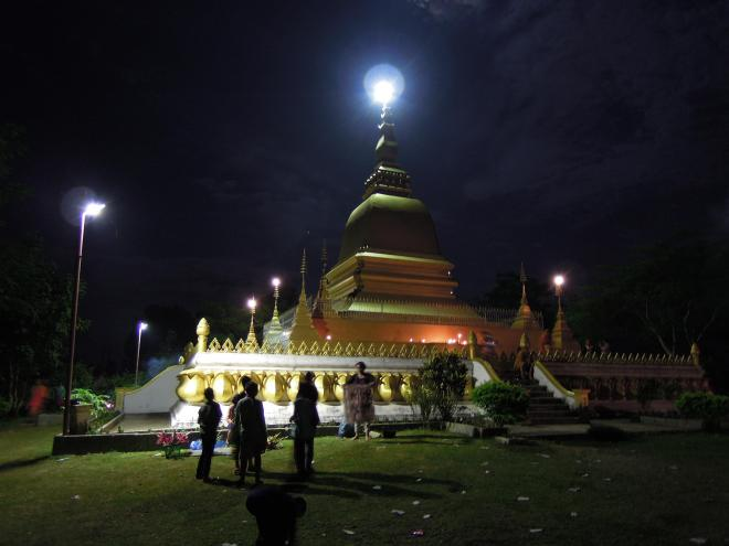 Phu That Stupa (a Buddhist sacred monument and a place for meditation), Oudomxay, photo by Martin Lehrmann