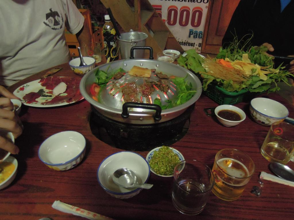 Restauracja barbecue, Luang Prabang, fot. A. Mielczarek
