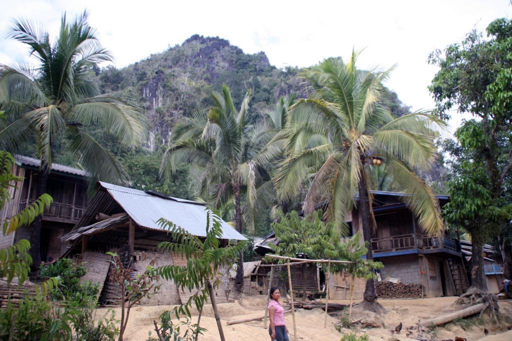 Eko-wioska Ban Na nieopodal Muang Ngoi Neua, fot. Pep Puig