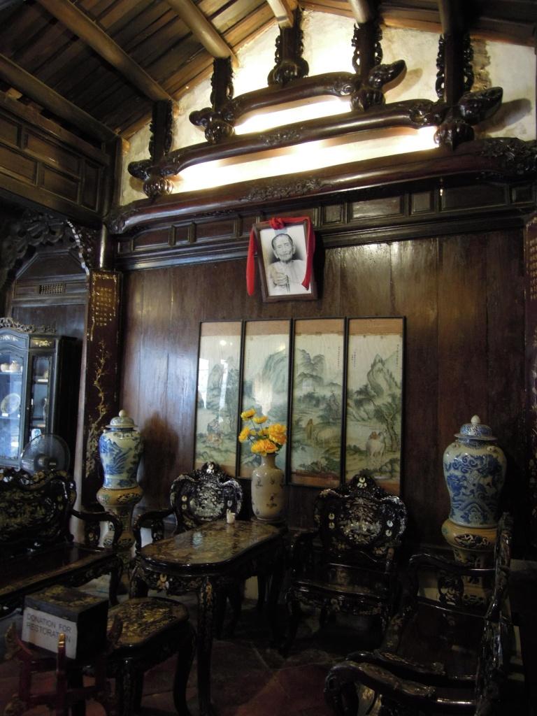 Wnętrze zabytkowego domu,  Hoi An, fot. M. Lehrmann