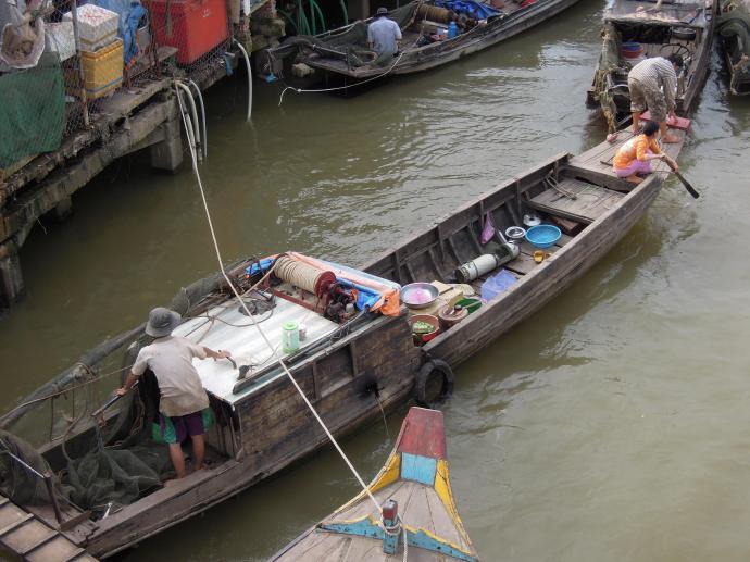 Życie w Delcie Mekongu toczy się na wodzie, Vinh Long, fot. M. Lehrmann