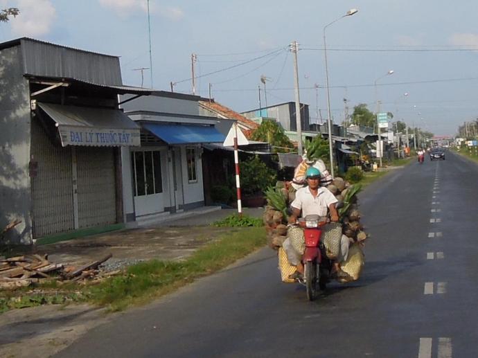 Na motocyklu można przewieźć wszystko, fot. M. Lehrmann