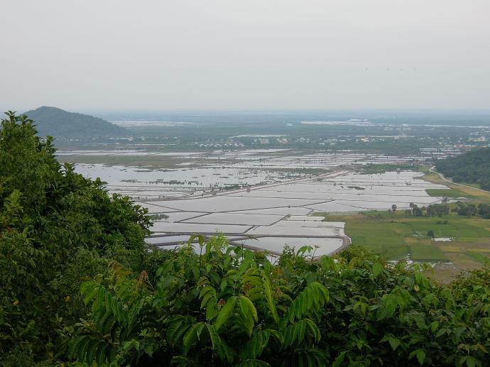 Rezerwuary wody w Kambodży, fot. M. Lehrmann