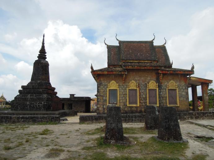 Buddyjska świątynia, Park Narodowy Bokor, fot. M. Lehrmann