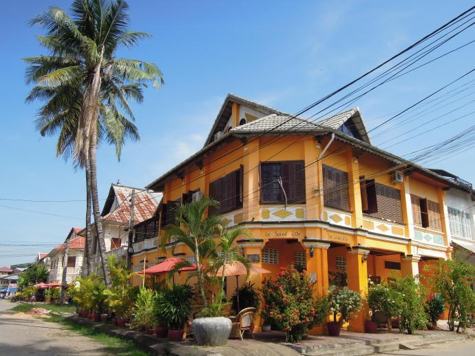 Kolonialna willa, Kampot, fot. M. Lehrmann