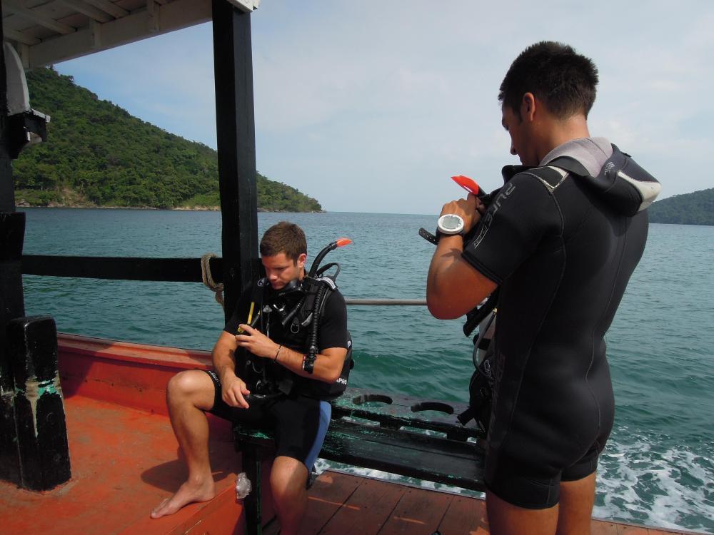 Kurs nurkowania, Koh Rong Samloem, fot. M. Lehrmann