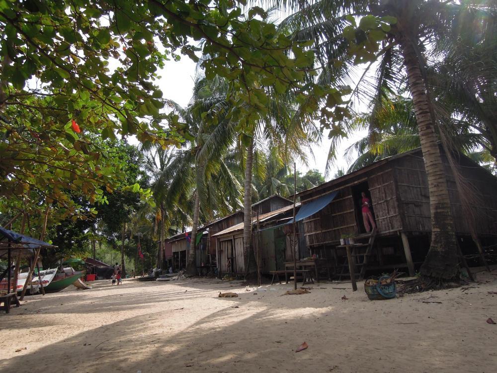 Rybacka wioska na Koh Rong Samloem, fot. M. Lehrmann