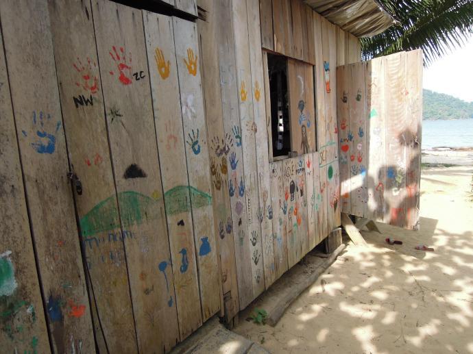 Szkoła na plaży, Koh Rong Samloem, fot. M. Lehrmann
