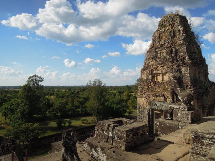Wat Pre Rup, z pięcioma wieżami w kształcie lotusa, uważana za krematorium, fot. M. Lehrmann