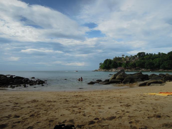 Plaża na przylądku Liam Som, Phuket, fot. A. Mielczarek