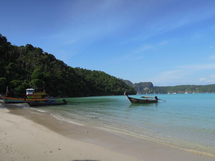 Plaża na Koh Phi Phi, fot. M. Lehrmann