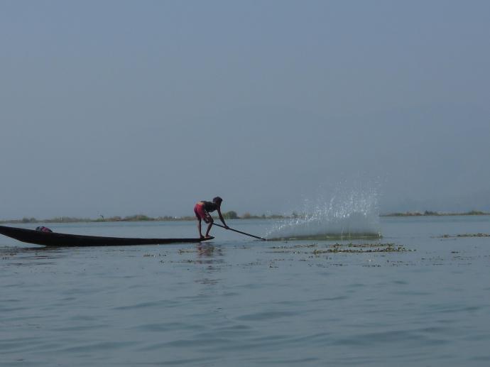 Rybak, Jezioro Inle, fot. M. Lehrmann