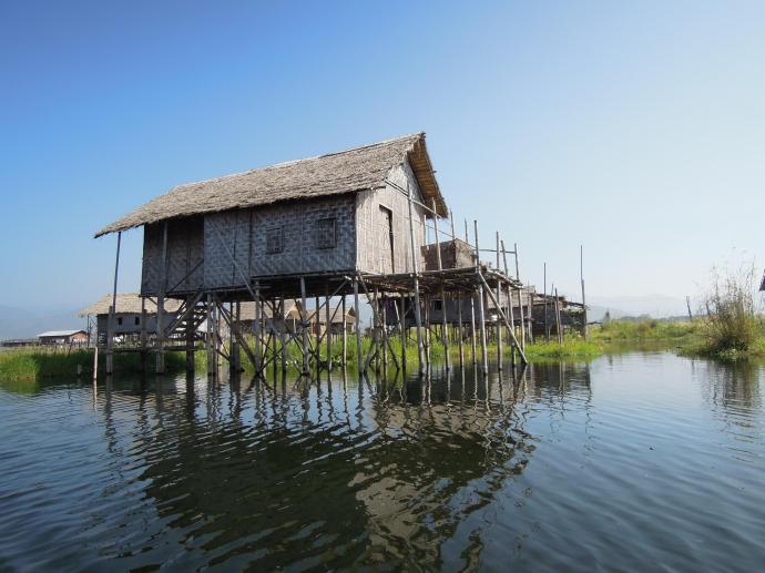 Dom na wodzie, fot. M. Lehrmann