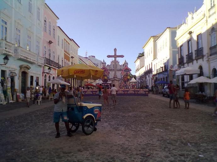 Stare uliczki historycznego centrum Pelourinho, fot. M. Lehrmann