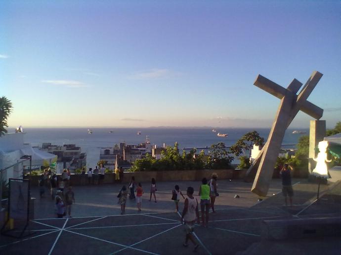 Salvador, widok z górnej, historycznej części miasta na port, fot. M. Lehrmann