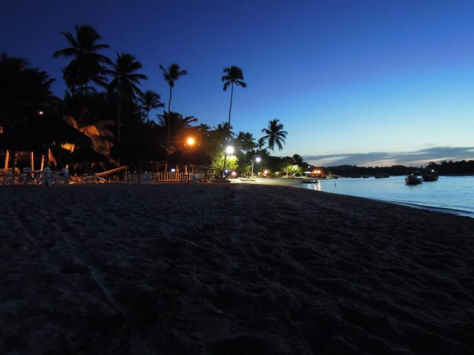 I w nocy, Boipeba, Brazylia, fot. M. Lehrmann