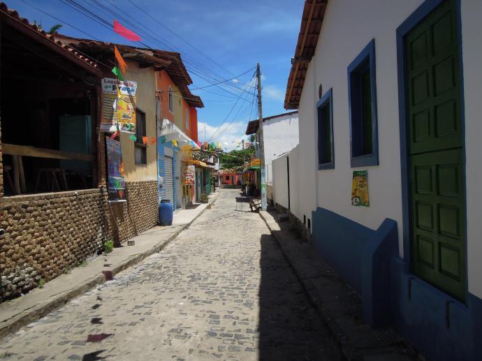 Senne miasteczko, Boipeba, Bahia, fot. M. Lehrmann