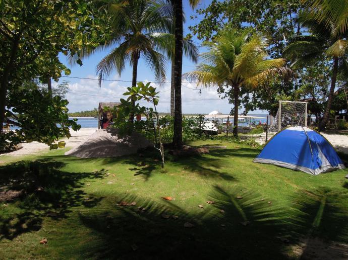 Namiot z widokiem, Boipeba, Bahia, fot. M. Lehrmann
