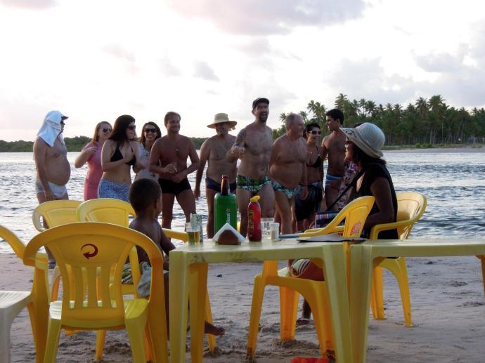 Weekendowicze, Boipeba, Bahia, fot. M. Lehrmann