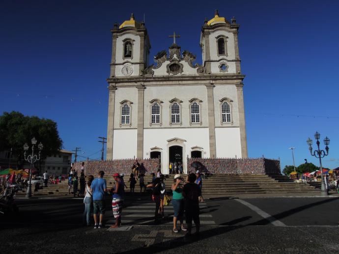 Słynący z cudownych uzdrowień kościół Bonfim, Salvador, fot. M. Lehrmann
