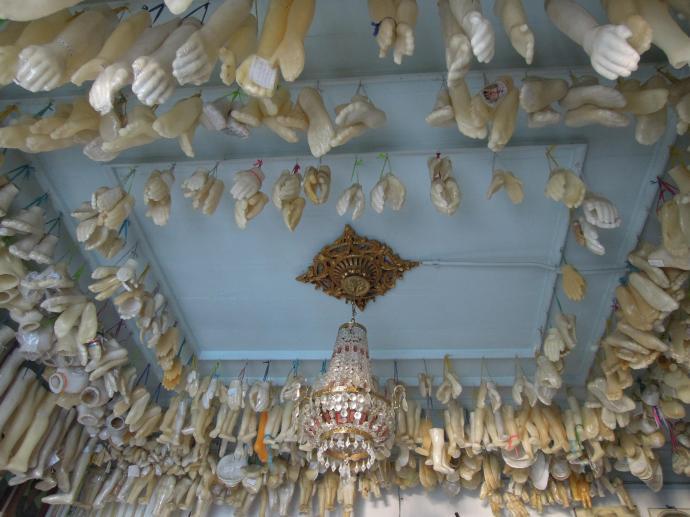 Nieco przerażająca kolekcja protez, Bonfim, fot. M. Lehrmann