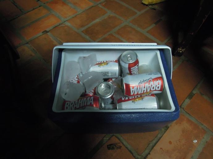 Piwo też musi być dobrze schłodzone, fot. A. Mielczarek