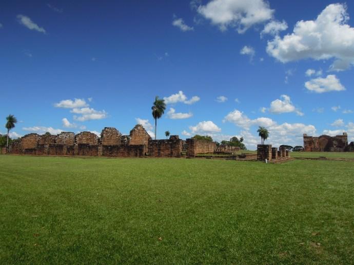 Ruiny jezuickiej misji w Trinidad koło Encarnacion, fot. M. Lehrmann