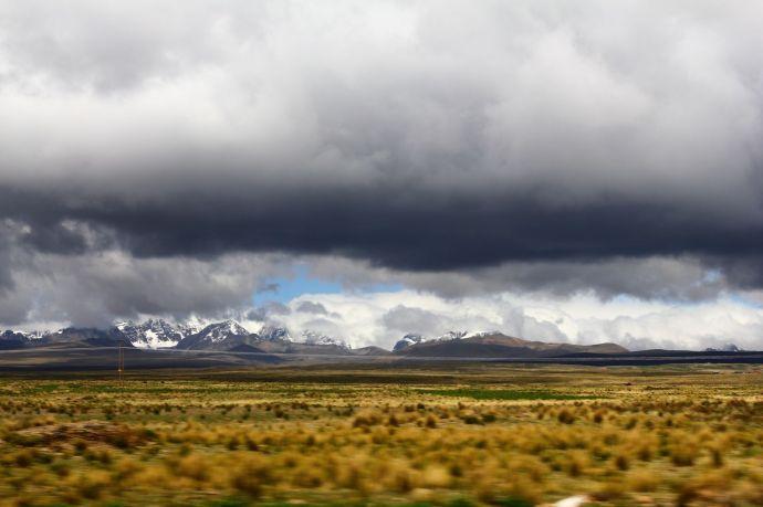 Na drodze z La Paz do Copacabany, Boliwia, fot. O'n'G