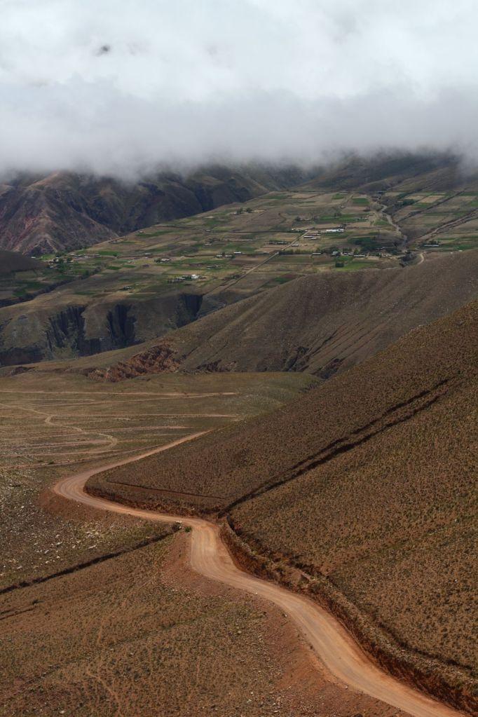 Droga na wysokości ponad 4000 n.p.m, Boliwia, fot. O'n'G