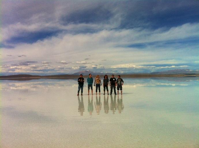 Największe na świecie lustro, Salar de Uyuni pod wodą, fot. Chihiro Yokoo