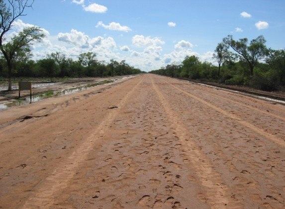 Na drodze do Boliwii. Ruta Trans Chaco. Zdjęcie pochodzi ze strony vanderblij.net