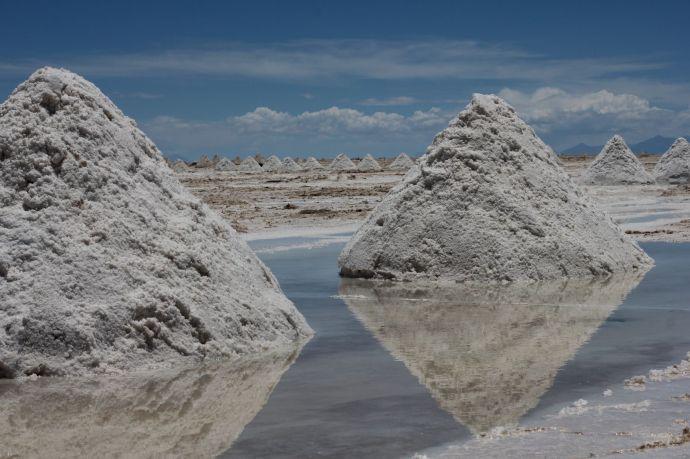 Wydobycie soli, Salar de Uyuni, Boliwia, fot. O'n'G