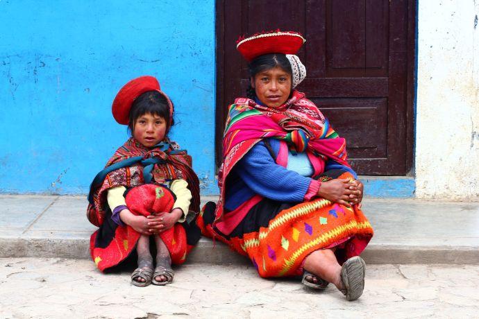Indianki Keczua, fot. O'n'G