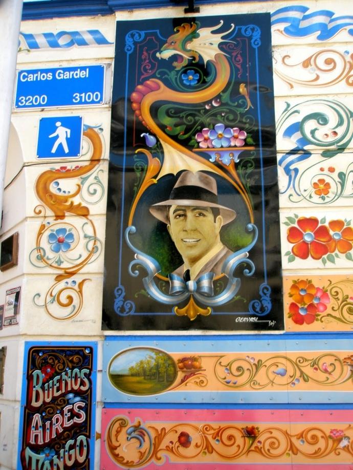 Carlos Gardel, śpiewak i kompozytor tanga, uwielbiany przez Argentyńczyków, fot. Fran A. Acero. Zdjęcie pochodzi ze strony autora http://www.viajeserraticos.com/