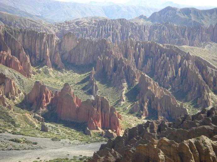 Dramatyczne widoki w Quebrada de Palala, w okolicy Tupizy, Boliwia, fot. Fran A. Acero. Zdjęcie pochodzi ze strony autora http://www.viajeserraticos.com/