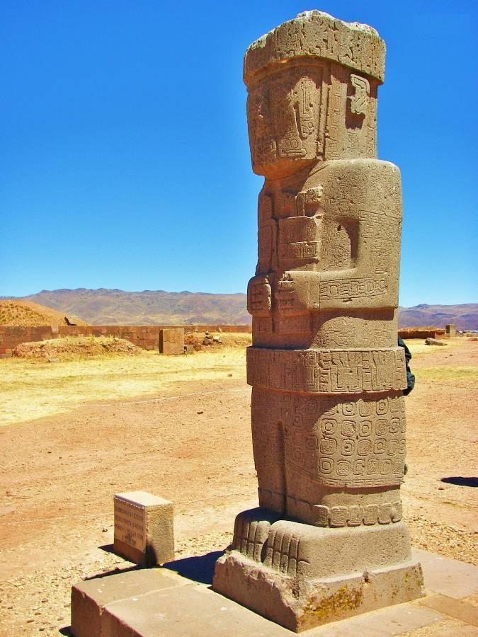 Pozostałości cywilizacji Tiwanaku, Boliwia, fot. Fran A. Acero. Zdjęcie pochodzi ze strony autora www.viajeserraticos.com