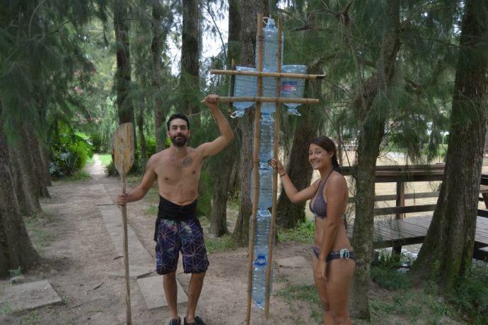 Idziemy popływać w Paranie, zdjęcie pochodzi z profilu Leonardo Jara na Facebooku