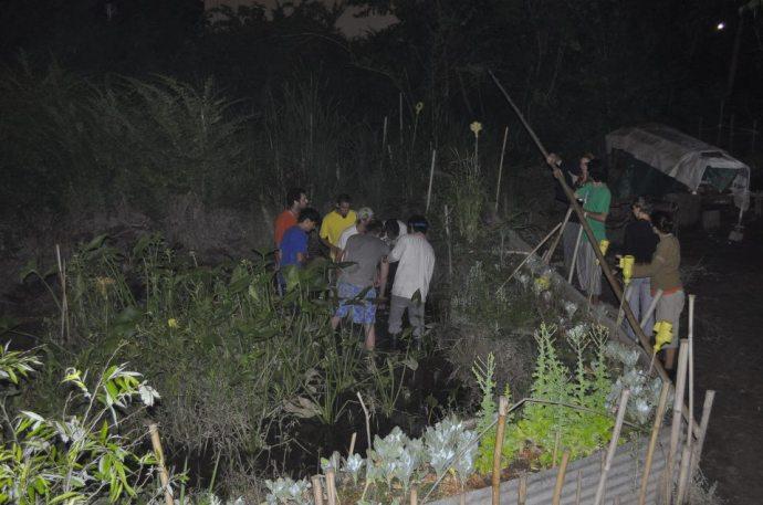 Co oni zakopują po nocy?, zdjęcie pochodzi z profilu Leonardo Jara na Facebooku