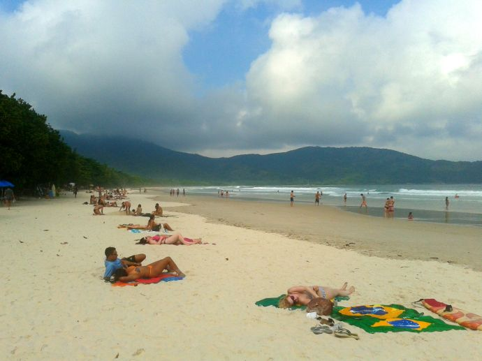 Prawdziwy raj, Lopez Mendez, Ilha Grande, fot. Otavio de Melo