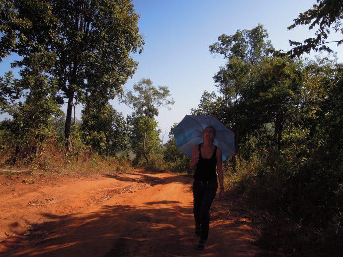 Wylewamy ostatnie poty, by dotrzeć w nieznane. Birma, fot. Martin Lehrmann