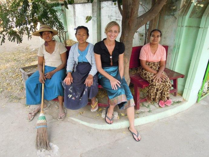 Nigdy nie czujemy się jednak samotni. Sagaing, Birma, fot. Martin Lehrmann