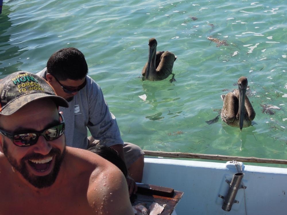 Dzień wodnych uciech, Caye Caulker, Belize, fot. M. Lehrmann