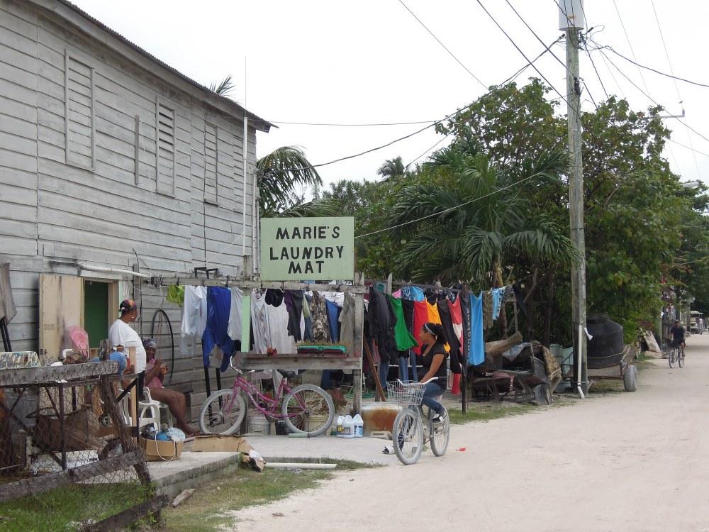 Pralnia ekologiczna, Caye Caulker, Belize, fot. M. Lehrmann