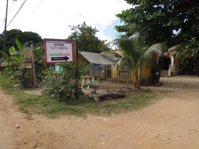 Jadłodajnia u Tiny, Hopkins, Belize, fot. M. Lehrmann