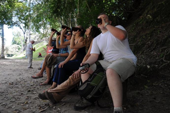 W samo południe doskwiera nam pragnienie, Tikal, Gwatemala, fot. K. Grzywna