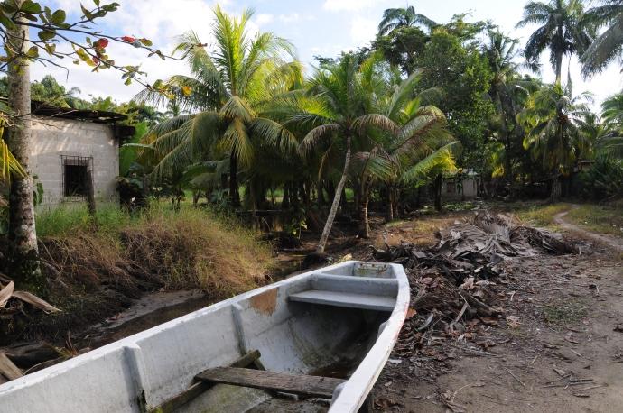 Karaiby niekoniecznie są piękne, Livingston, Gwatemala, fot. Ula Kupińska