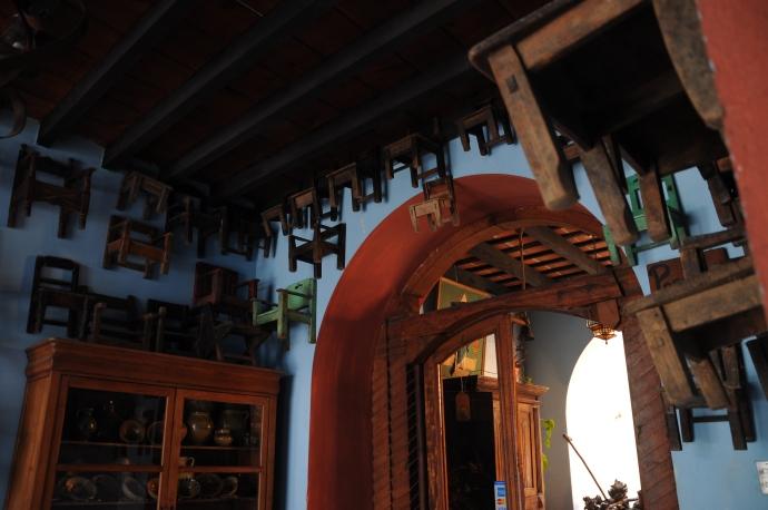 Dekoracja, Antigua, Gwatemala, fot. Ula Kupińska