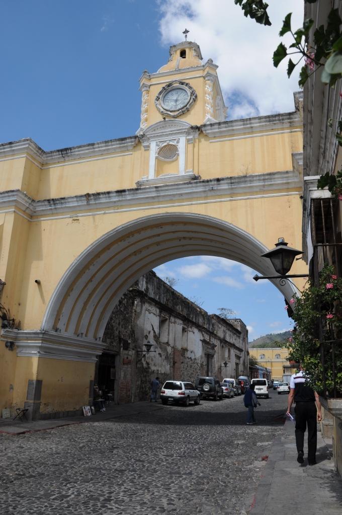 Łuk Klasztoru St. Catalina, Antigua, Gwatemala, fot. Ula Kupińska